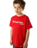 Scribbled TShirt Red
