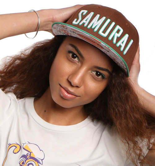 Samurai Snapback Brown