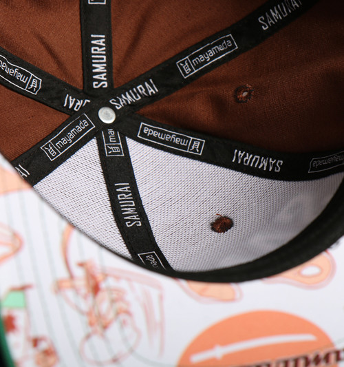 Samurai Snapback Detail Brown