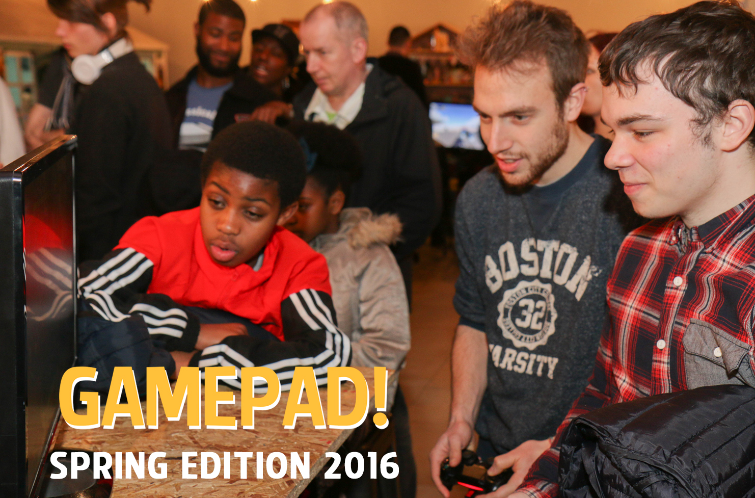 Social Gaming GamePad Sping 2016