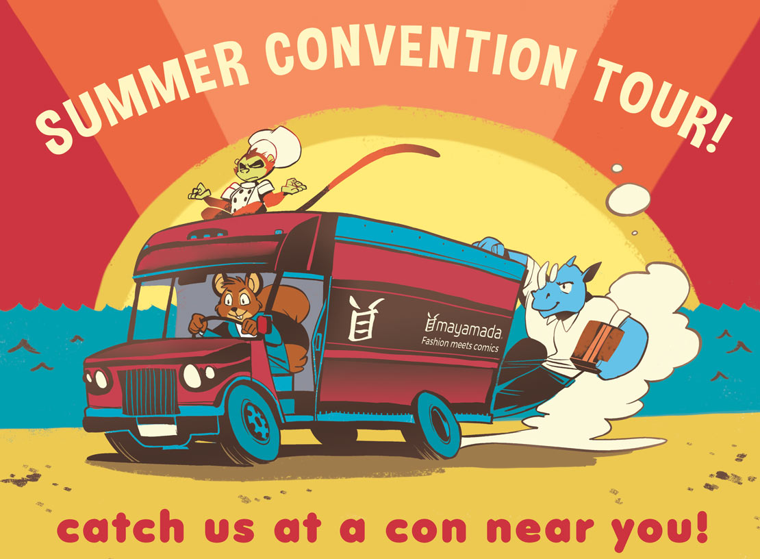 Summer Comic Convention Tour - mayamada