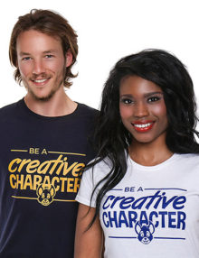 Creative Character Navy And White - mayamada