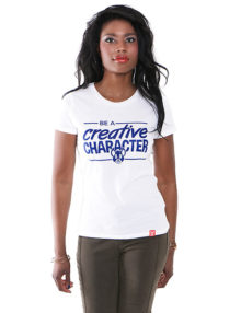 Creative Character White T-Shirt