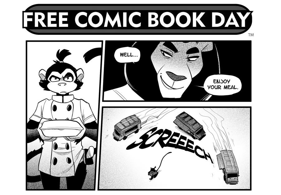 Free Comic Book Day Samurai Chef - mayamada
