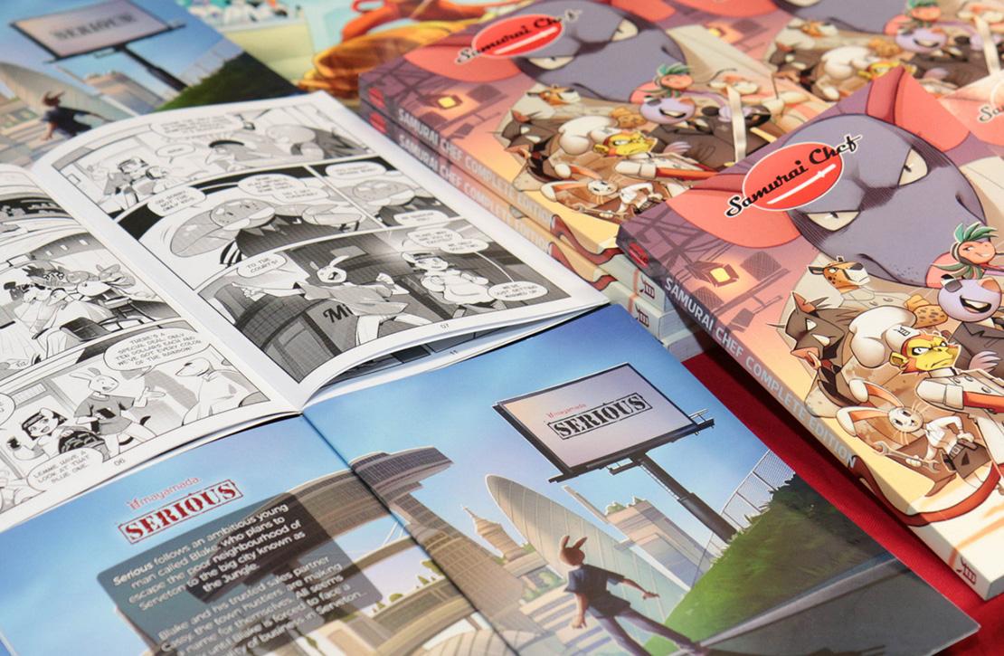 Patreon Campaign For British Manga - mayamada